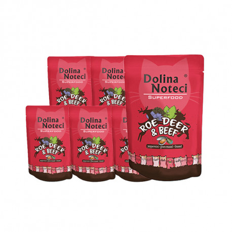 Dolina Noteci Superfood Cat - Srnec a hovädzie 85g DNP S.A. - 1