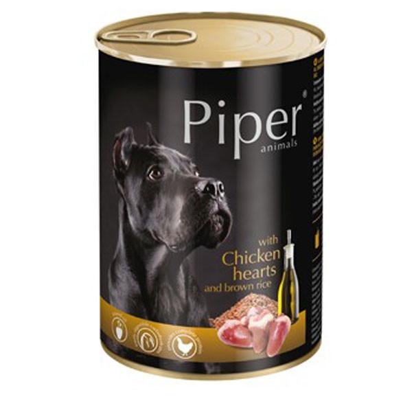 Piper Adult - Kuracie srdiečka s ryžou 400g DNP S.A. - 1