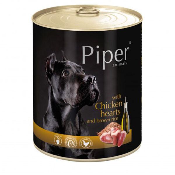 Piper Adult - Kuracie srdiečka s ryžou 800g DNP S.A. - 1