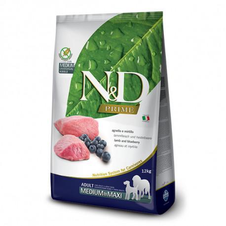 Farmina N&D Dog Prime Adult Medium & Maxi Lamb & Blueberry 2,5kg Farmina N&D - 2