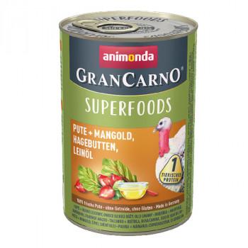 Animonda GranCarno Superfoods Morka + mangold, šípky a ľanový olej 400g Animonda - 1