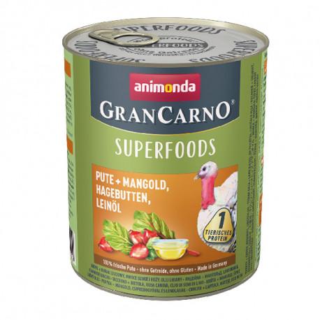 Animonda GranCarno Superfoods Morka + mangold, šípky a ľanový olej 400g Animonda - 2