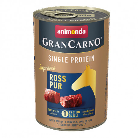 Animonda GranCarno Single Protein Supreme - Konské čisté 400g Animonda - 1