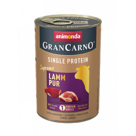 Animonda GranCarno Single Protein Supreme - Jahňacie čisté 400g Animonda - 1