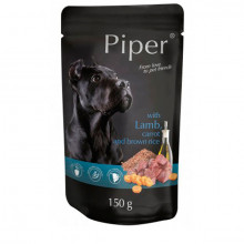 Piper Adult - Jahňa s mrkvou a hnedou ryžou 150g DNP S.A. - 1