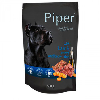 Piper Adult - Jahňa s mrkvou a hnedou ryžou 500g DNP S.A. - 1