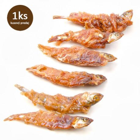 Rybička obalená kuracím mäsom Salač 10cm Salač - 1