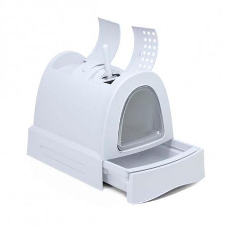 Imac Zuma záchodík pre mačku - ľadovo modrá farba  - 1