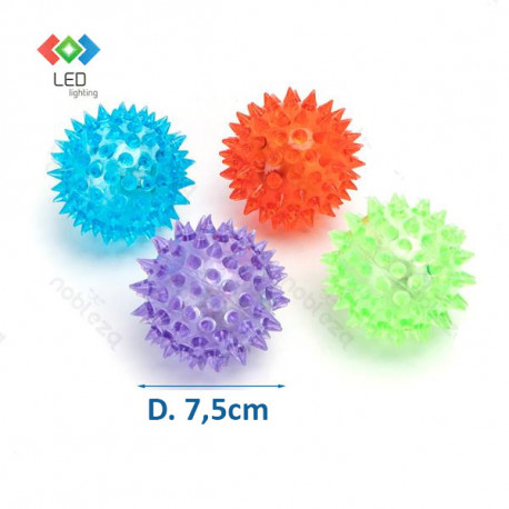 LED svietacia lopta pre psa Nobleza L - 7,5cm Nobleza - 2
