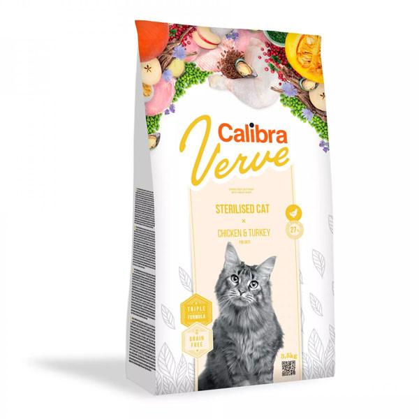 Calibra Cat Verve GF Sterilised Chicken&Turkey 750g Calibra - 2
