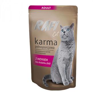 Rafi Sterilised Cat Pate - Morčacie 100g DNP S.A. - 1