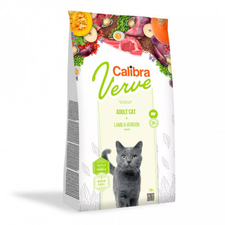 Calibra Cat Verve GF Adult Lamb&Venison 8+ 750g Calibra - 1