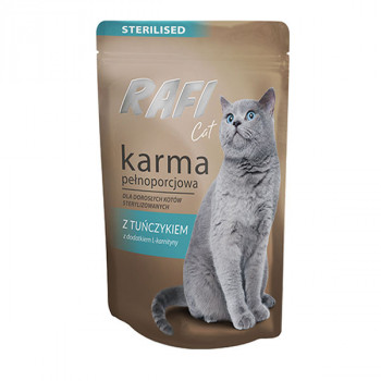 Rafi Sterilised Cat Pate - Tuniak 100g DNP S.A. - 1