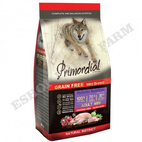 Primordial GF Adult Mini Sardine & Goose 2kg MisterPet - 1