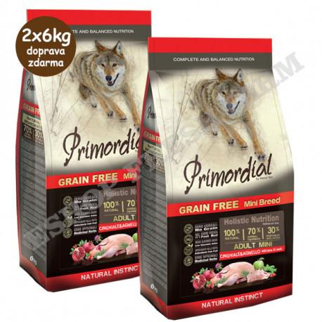 Primordial GF Adult Mini Lamb & Wild Boar 2kg MisterPet - 3