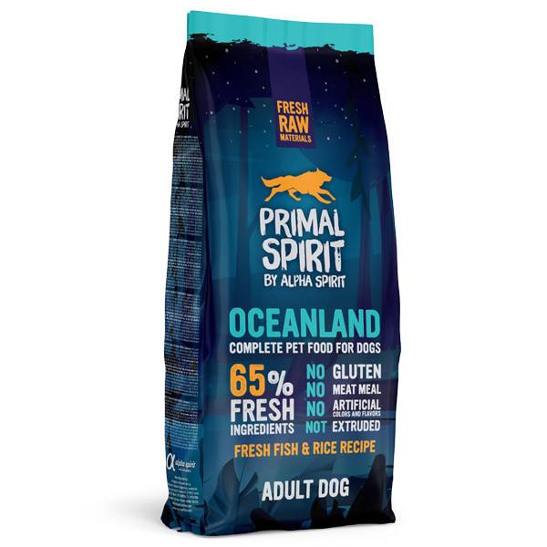 Primal Spirit Dog 65% Oceanland 1kg Alpha Spirit - 2