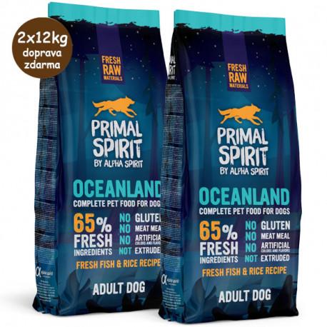 Primal Spirit Dog 65% Oceanland 1kg Alpha Spirit - 3
