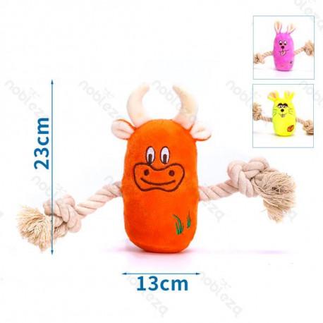 copy of Plyšová hračka Nobleza - Zvieratká 3 druhy s lanom Nobleza - 1