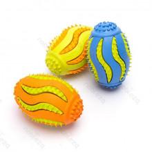 Gumená dentálna hračka v tvare rugby pre psa Nobleza Nobleza - 1