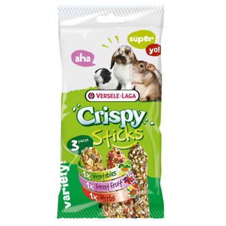 Versele-Laga Crispy Sticks Herbivores Triple Variety Pack 165g Versele-Laga - 1