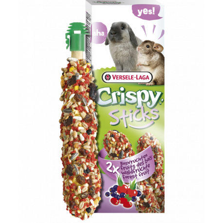 Versele-Laga Crispy Sticks Rabbits-Chinchilas Forest Fruit 110g Versele-Laga - 1
