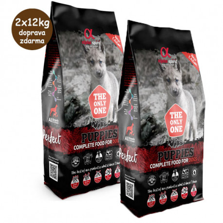 Alpha Spirit The Only One - Puppies 2x12kg Alpha Spirit - 1