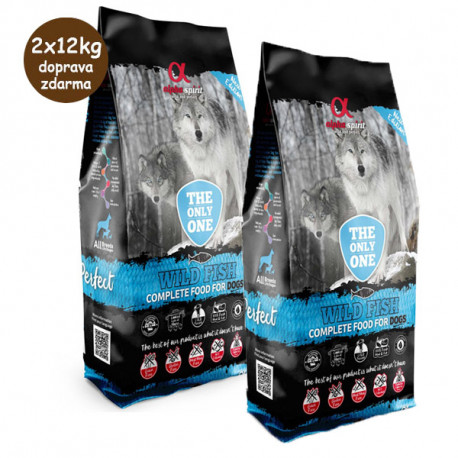 Alpha Spirit The Only One - Wild Fish 2x12kg Alpha Spirit - 1