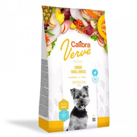 Calibra Dog Verve GF Junior Small Chicken&Duck 1,2kg Calibra - 2