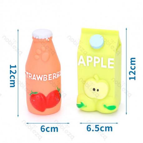 Gumená hračka pre psa Nobleza džús jahoda a jablko 1ks Nobleza - 1