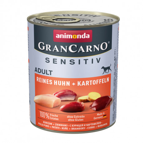 Animonda GranCarno Sensitiv Adult - Kuracie so zemiakmi 800g Animonda - 1