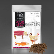 Fresh Farm Puppy Mini Multiprotein - Chicken, pork & salmon 800g Fresh Farm - 2