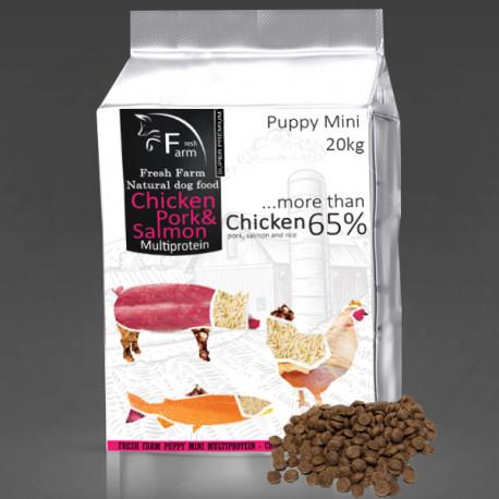 Fresh Farm Puppy Mini Multiprotein - Chicken, pork & salmon 800g Fresh Farm - 4