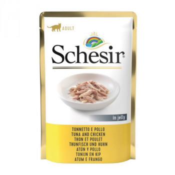 Schesir Cat - Tuniak a kuracie 100g Agras Delic - 1