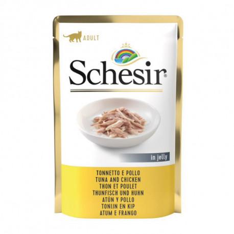 Schesir - Tuniak a kuracie 100g Agras Delic - 1