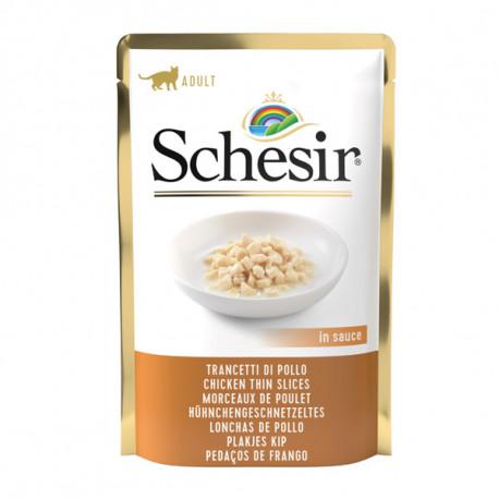 Schesir Cat kapsička - Kuracie kúsky v omáčke 85g Agras Delic - 1