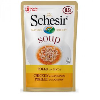 Schesir Soup - Kuracie s dyňkou 85g Agras Delic - 1