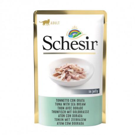 Schesir Cat kapsička - Tuniak s pražmou 85g Agras Delic - 1