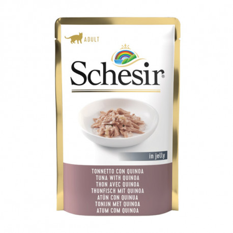 Schesir Cat kapsička - Tuniak s Quinoa 85g Agras Delic - 1
