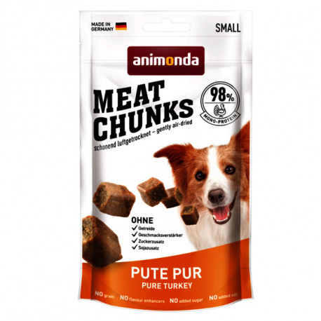 Animonda Meat Chunks Small Dog - morčacie mäso 80g  - 1