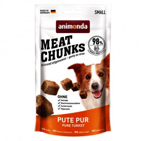 Animonda Meat Chunks Small Dog - morčacie mäso 80g  - 1