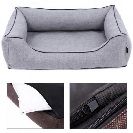 Sofa Mallorca Pelech Comfort - sivá farba Ani - pet - 1