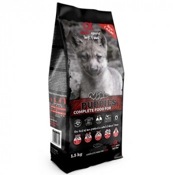 Alpha Spirit Complete Soft Dog Food - Puppies 1,5kg Alpha Spirit - 1