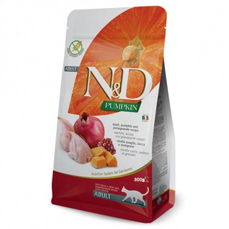 Farmina N&D cat GF Pumpkin Quail 0,3kg Farmina N&D - 1
