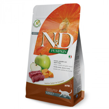 Farmina N&D Cat GF Pumpkin Venision 300g Farmina N&D - 1