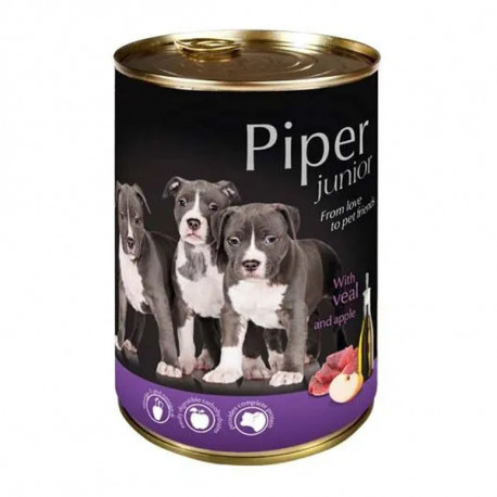 Piper Dog Junior - Teľacie a jablko 400g DNP S.A. - 1