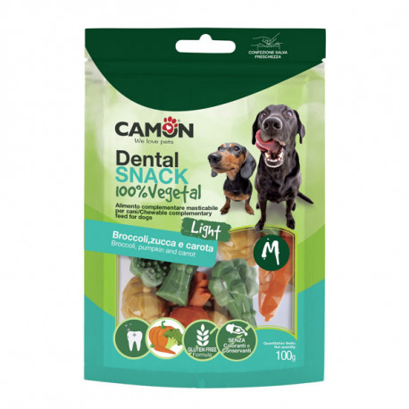 Camon Garden Dental Snack Dog Vegetal M 95g Camon - 1