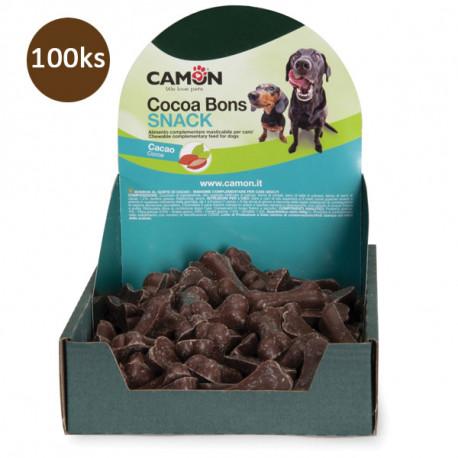 Camon Dog Ciokobone Dark - kostičky z tmavej čokolády 500g Camon - 1