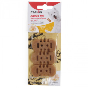 Camon Dog Ginger Toy - žuvacia hračka pre psa so zázvorom 3ks Camon - 1