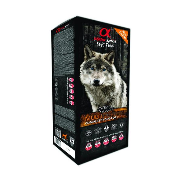 copy of Alpha Spirit Complete Soft Dog Food - Multiprotein 200g Alpha Spirit - 1