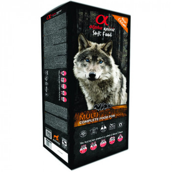 Alpha Spirit Complete Soft Dog Food - Multiprotein 9kg Alpha Spirit - 1